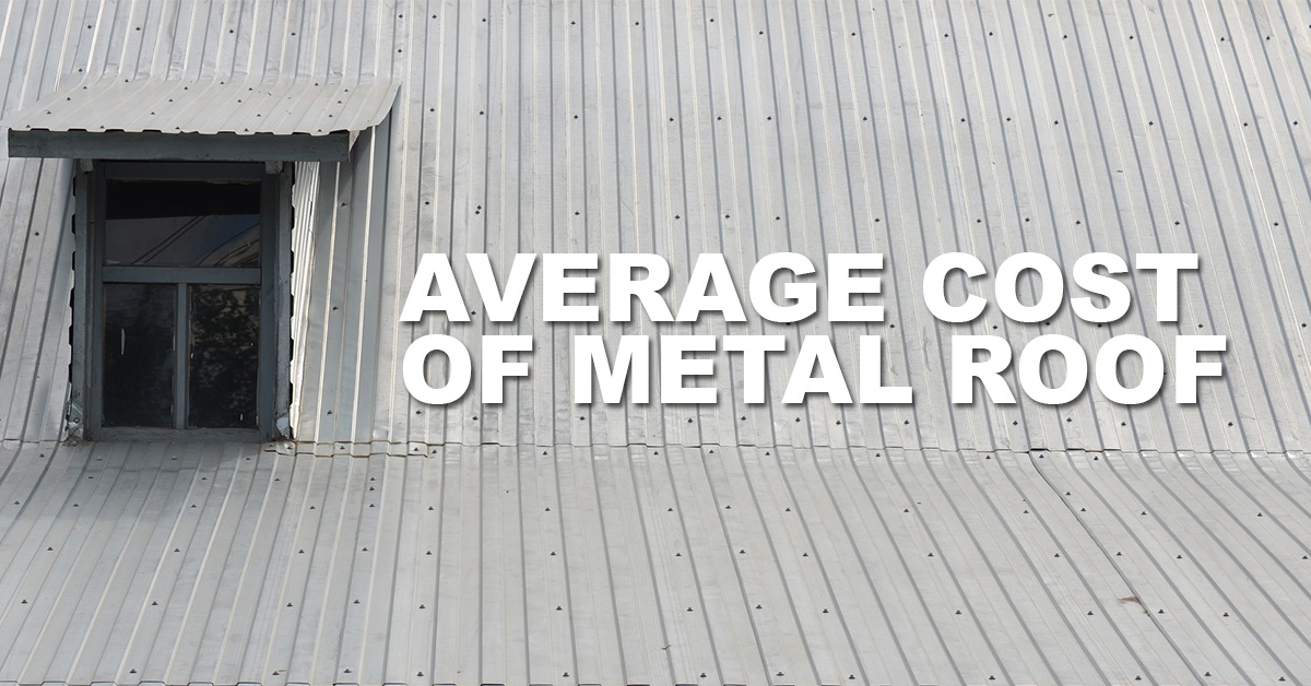 average-cost-of-metal-roof