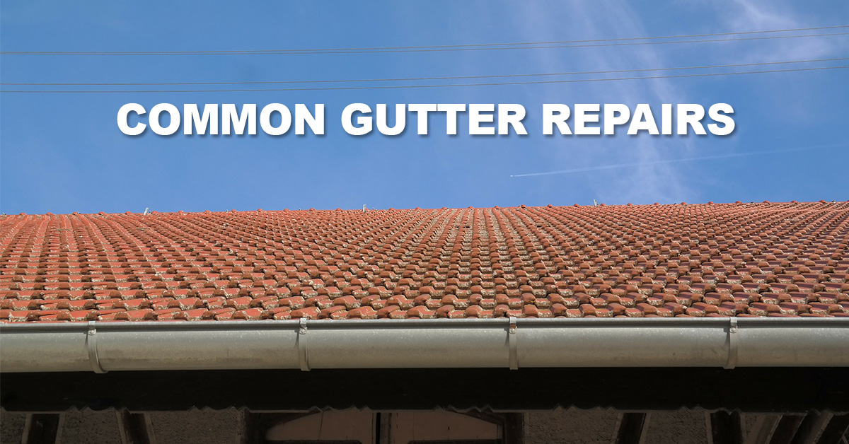common-gutter-repairs