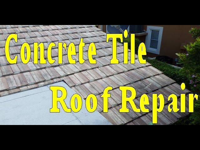 Roof Repair Tile Roofing Leak Repair Start To Finish