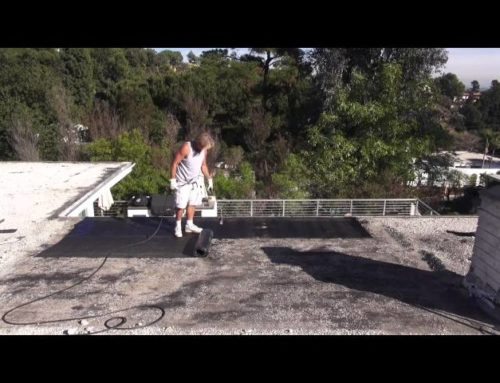 How To Repair A Gravel  Rock Roof With Torch Down Hollywood Roofing Contractors