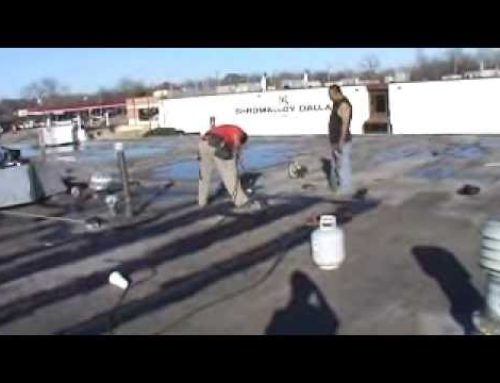 How To Repair Torch Down Roofs